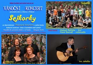 Vánoční koncert Sejkorky a hosté