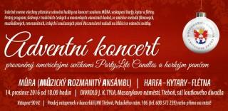 Adventní koncert - pozvánka