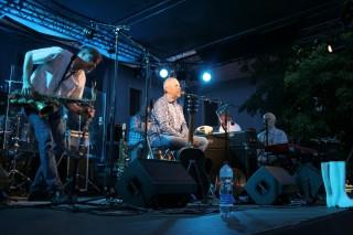 Marek Eben s kapelou v Třeboni