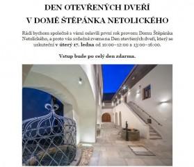 Den otevřených dveří v DŠN