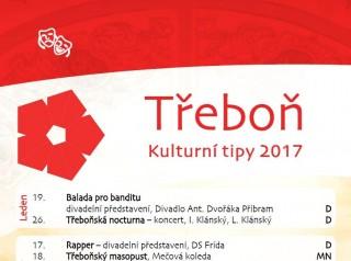 Třeboň - Kulturní tipy 2017
