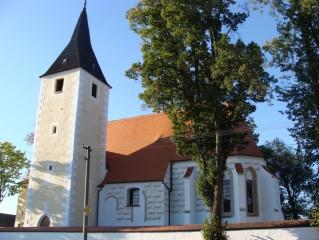 Mladošovice - kostel