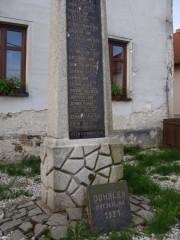 Pomník obětem první sv. války