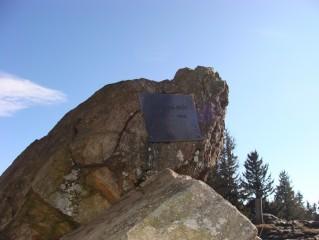 Památník na Kleti