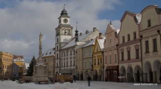 Třeboň, Stará radnice s vyhlídkovou věží