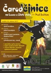 Čarodějnice 2017 - plakát