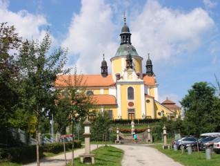Poutní kostel chlum u Třeboně