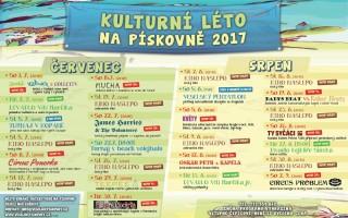 Kulturní léto 2017 na pískovně