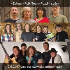 Castle Tour 2017: Folk Team - Pozdní sběr - Žalman a spol.