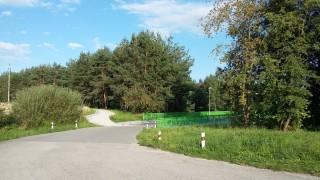 Cyklostezka z Třeboně na Novou Hlinu - začátek