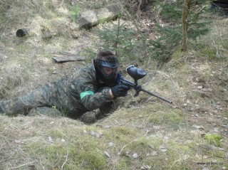 Paintball na Třeboňsku