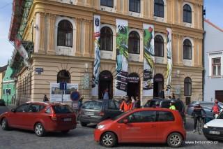 Festivalové centrum v Třeboni