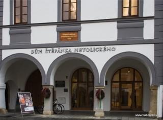 Dům Štěpánka Netolického, Masarykovo náměstí, Třeboň