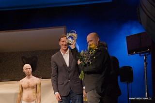 Slavnostní zahájení - cena pro Jiřího Šalamouna