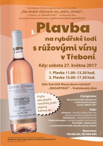 Plavba s růžovými víny