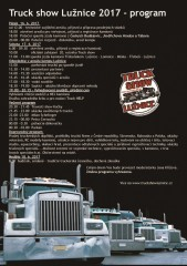 Truckshow Lužnice - program 2017