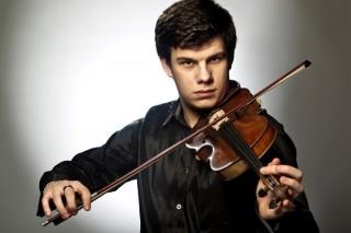 Praha,23.1.2013,mladý houslista Jan Mráček Foto:Mafra-David Neff