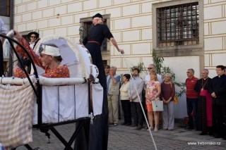 Divadlo Kvelb své představení začíná na Zámku Třeboň