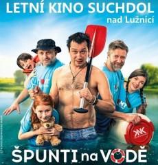 Špunti na vodě - letní kino Suchdol