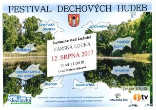 Festival dechových hudeb - plakát
