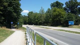 Cyklostezka z Třeboně na Novou Hlinu
