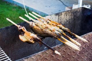 Ryba na ohni