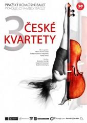 Tři české kvartety - plakát