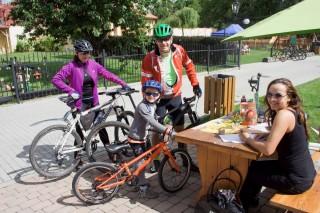 Nedělní cyklistický výlet  RS - na startu