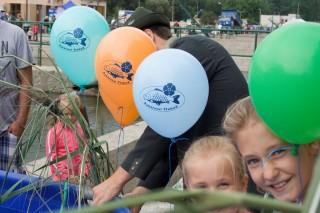 balónek s třeboňským kaprem pro děti