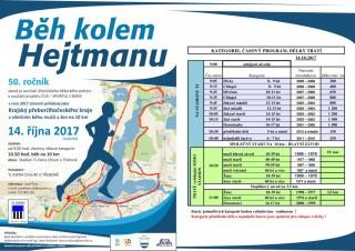 Běh kolem Hejtmanu 2017 - program