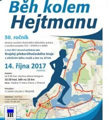 Běh kolem Hejtmanu - plakát 2017