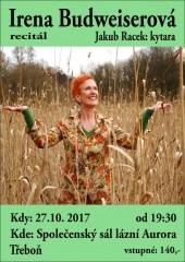 Irena Budweiserová - pozvánka do Třeboně
