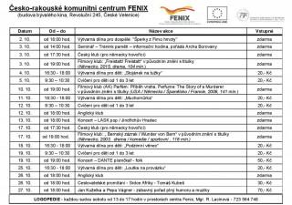 Fenix - program 10/2017