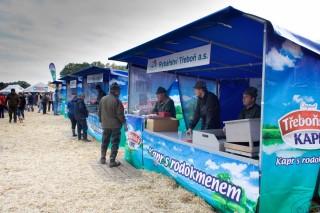 Prodej živých ryb je na výlovu samozřejmostí
