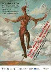Plakát výstavy v Třeboni