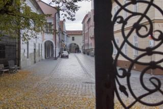 Třeboň - pohled do Březanovy ulice