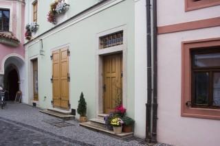 Třeboň - zátiší z Březanovy ulice