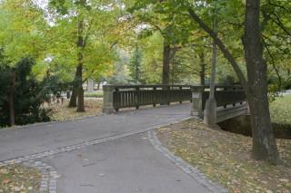 Třeboň - v městském parku