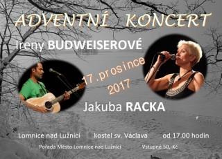 Adventní koncert Ireny Budweiserové v Lomnici n. L.