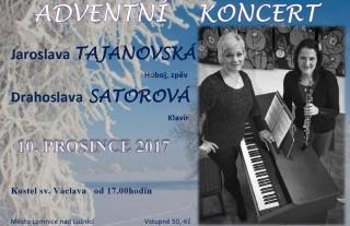 Adventní koncert o 2. adventní neděli 2017