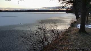 Rybník Svět pod ledem