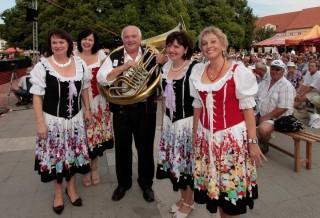 Festival dechových hudeb  v Lomnici n. L.
