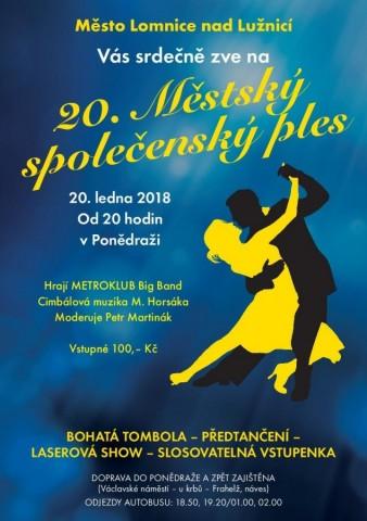 Ples města Lomnice nad Lužnicí