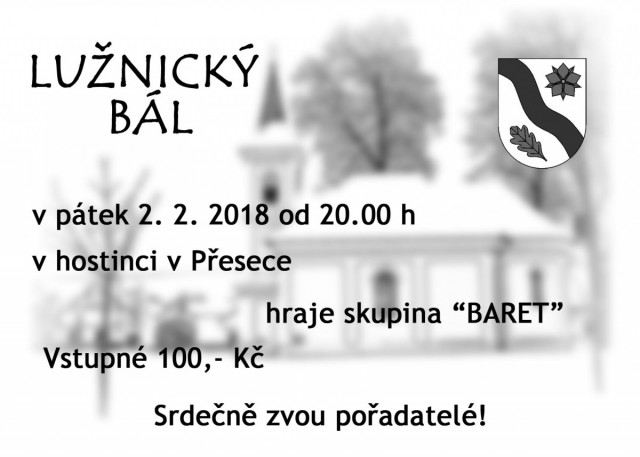 Lužnický bál 2018