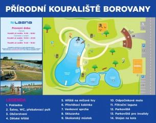 Koupaliště Lazna Borovany