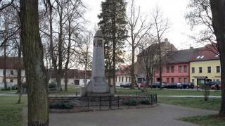 Pomník v centrálním parku