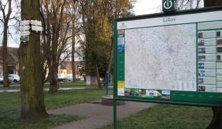Turistické informace, mapa