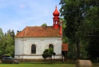 Jiříkovo údolí - budova kaple