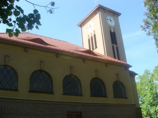 Kostel sv. Anežky České v Č. Velenicích