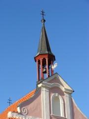 Věžička kostela sv. Víta